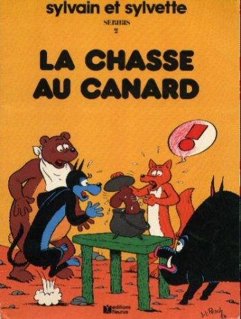 Couverture de Sylvain et Sylvette -2a- La chasse au canard