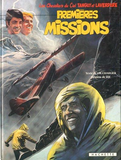 Couverture de Tanguy et Laverdure -21- Premières missions