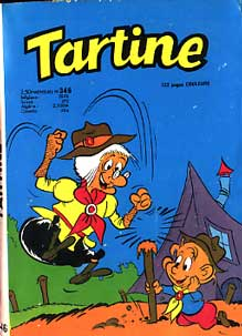 bande dessinee tartine