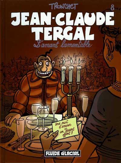 Couverture de Jean-Claude Tergal -8- L'amant lamentable