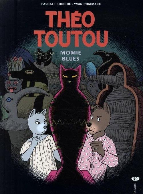Couverture de Les enquêtes de Théo Toutou -6- Momie blues