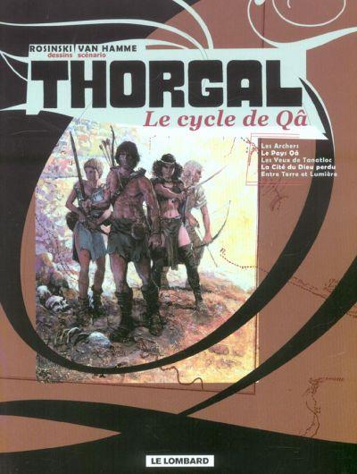 Couverture de Thorgal -INT- Le cycle de Qâ
