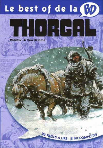 Couverture de Thorgal -BOBD- Le Best of de la BD - 13