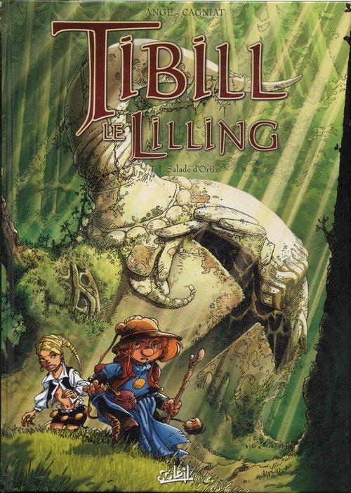 Couverture de Tibill le Lilling -1- Salade d'Ortiz