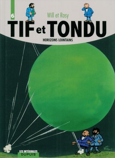 Couverture de Tif et Tondu (Intégrale) -6- Horizons lointains