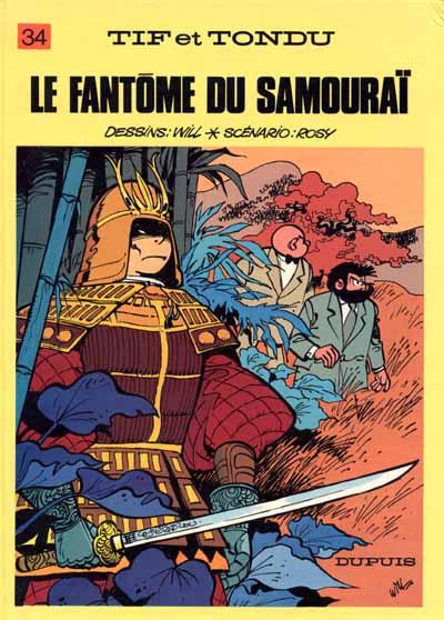 Couverture de Tif et Tondu -34- Le fantôme du samouraï