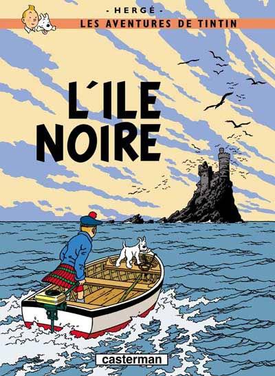 Couverture de Tintin -7- L'île noire