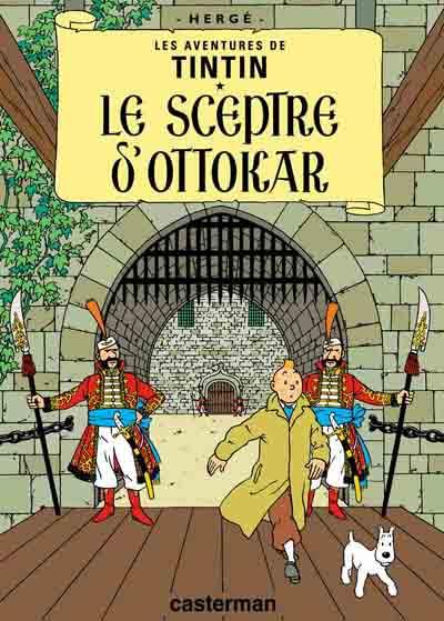 Couverture de Tintin -8- Le sceptre d'Ottokar