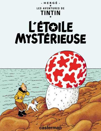 Couverture de Tintin -10- L'étoile mystérieuse