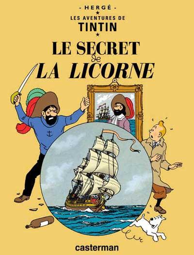 Couverture de Tintin -11- Le secret de la licorne