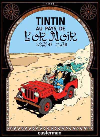 Couverture de Tintin -15- Au pays de l'or noir