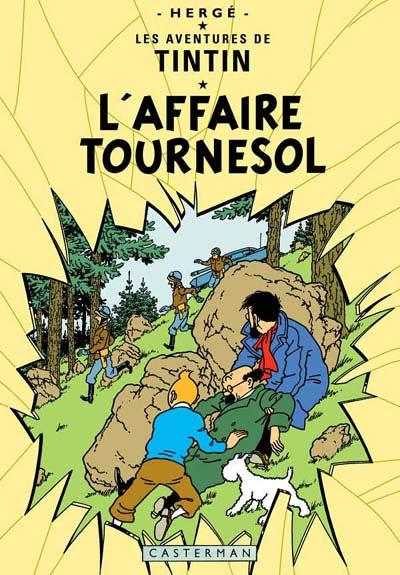 Couverture de Tintin -18- L'affaire Tournesol