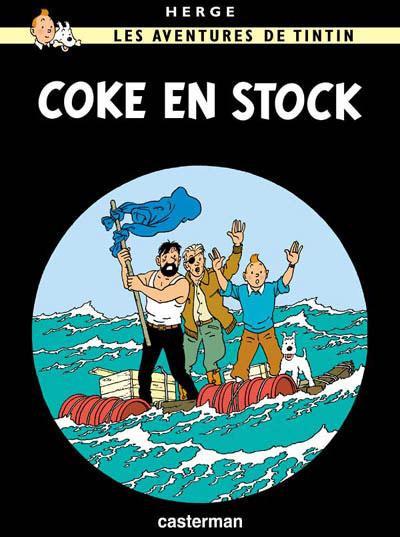 Couverture de Tintin -19- Coke en stock