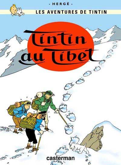 Couverture de Tintin -20- Tintin au Tibet