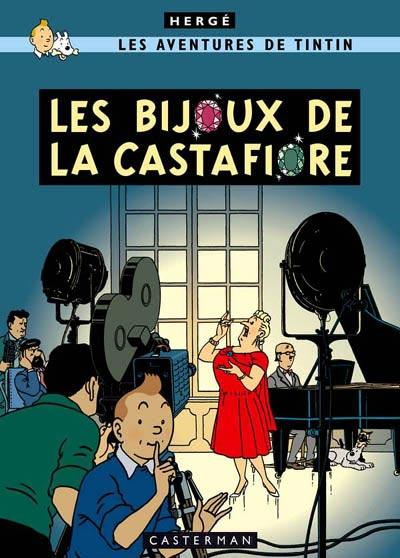 Couverture de Tintin -21- Les bijoux de la Castafiore