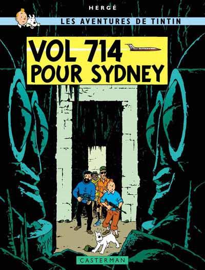 Couverture de Tintin -22- Vol 714 pour Sydney