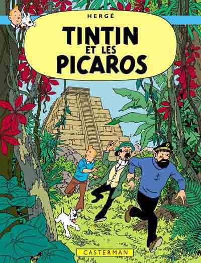 Couverture de Tintin -23- Tintin et les Picaros