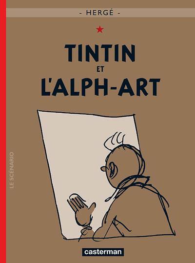 Couverture de Tintin -24- Tintin et l'alph-art