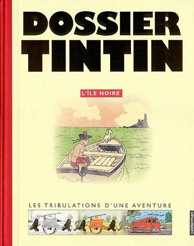 Couverture de Tintin - Dossier -71- L'île noire