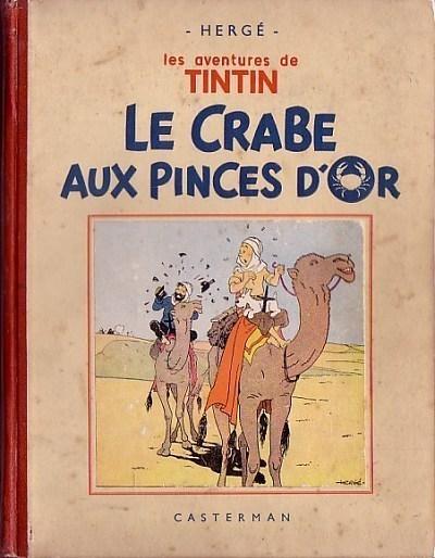 Couverture de Tintin (Historique) -9- Le crabe aux pinces d'or