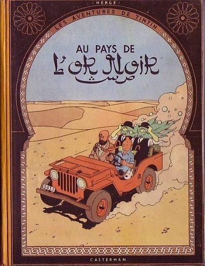 Couverture de Tintin (Historique) -15B04- Au pays de l'or noir