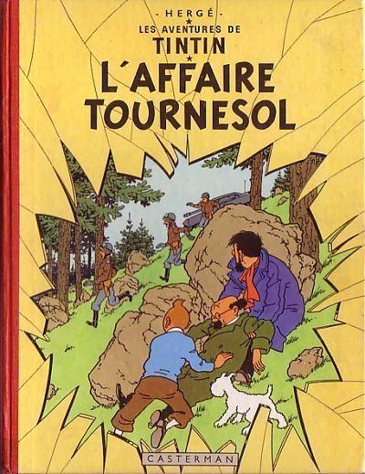 Couverture de Tintin (Historique) -18- L'affaire Tournesol