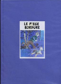 Couverture de Tintin - Pastiches, parodies & pirates -20- Le Piège bordure