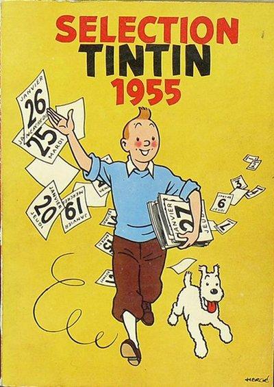 Couverture de Tintin (Sélection) - Sélection Tintin 1955