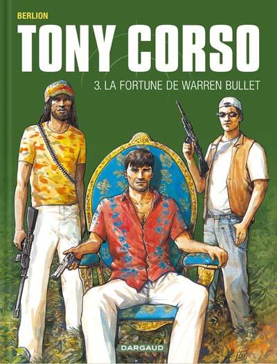 Couverture de Tony Corso -3- La fortune de Warren Bullet