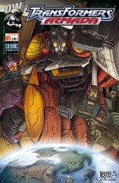 Couverture de Transformers (Semic) -5- Transformers Armada 5