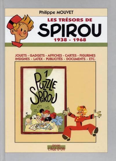 Couverture de Spirou et Fantasio -2- (Divers) -TS1- Les trésors de Spirou 1938-1968
