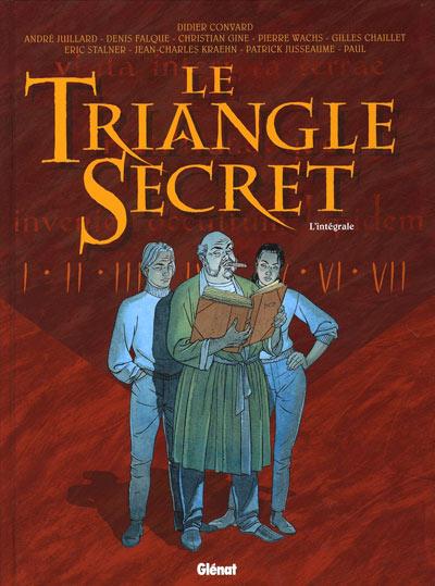 Couverture de Le triangle secret -INT- L'intégrale