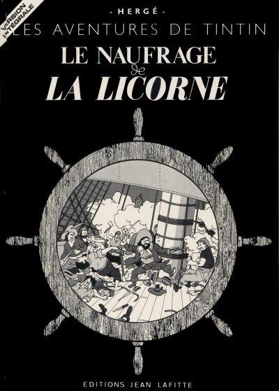 Couverture de Tintin - Pastiches, parodies & pirates -10pira- Le Naufrage de la Licorne