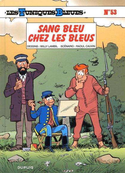 Couverture de Les tuniques Bleues -53- Sang bleu chez les Bleus