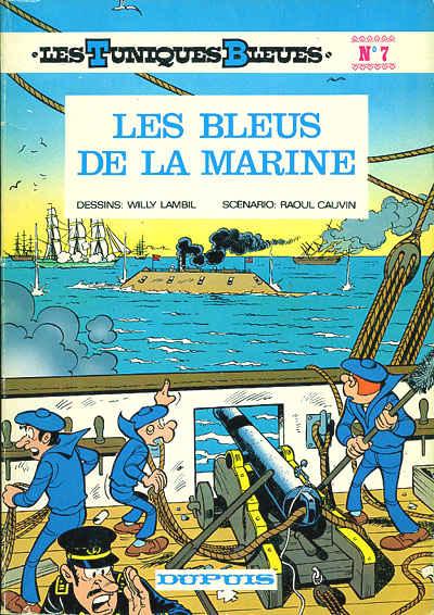 Couverture de Les tuniques Bleues -7- Les bleus de la marine