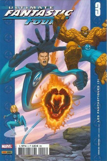 Couverture de Ultimate Fantastic Four -3- Les Fantastiques (3)