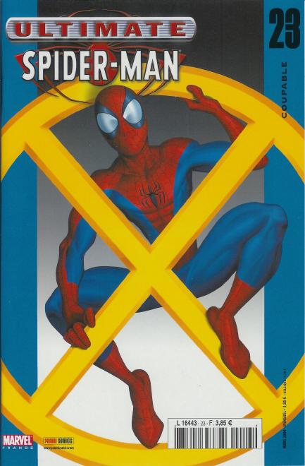 Couverture de Ultimate Spider-Man (1re série) -23- Coupable