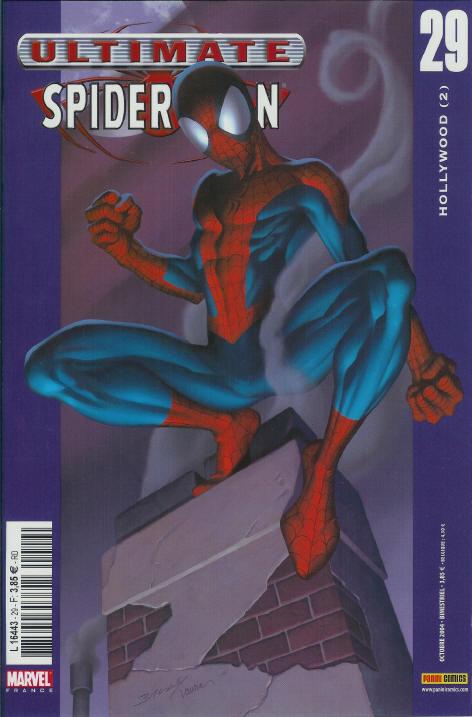 Couverture de Ultimate Spider-Man (1re série) -29- Hollywood (2)