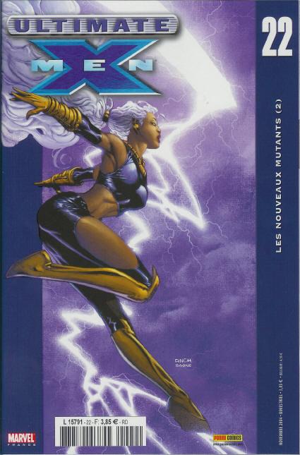 Couverture de Ultimate X-Men -22- Les nouveaux mutants (2)