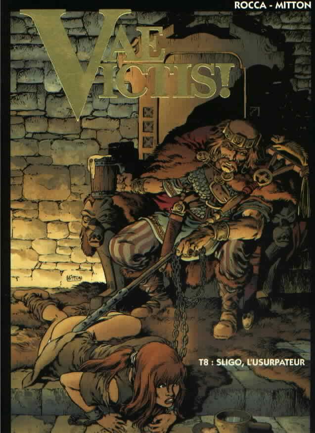 Couverture de Vae Victis! -8- Sligo, l'usurpateur