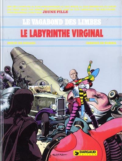 Couverture de Le vagabond des Limbes -9- Le labyrinthe virginal