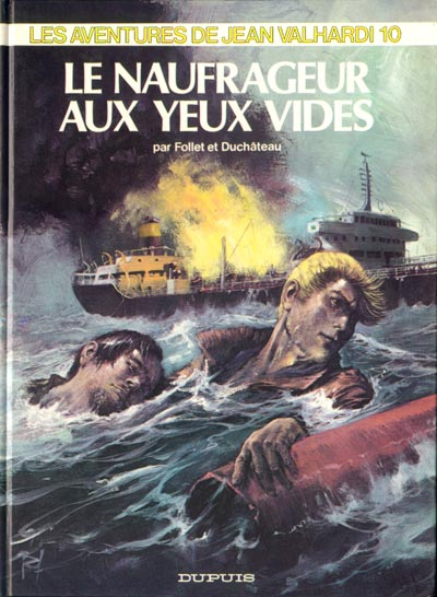 Couverture de Valhardi (Série récente) -10- Le naufrageur aux yeux vides
