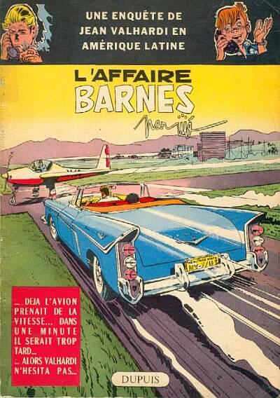 Couverture de Valhardi -8- L'affaire Barnes