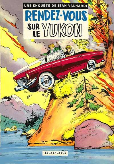 Couverture de Valhardi -11- Rendez-vous sur le yukon