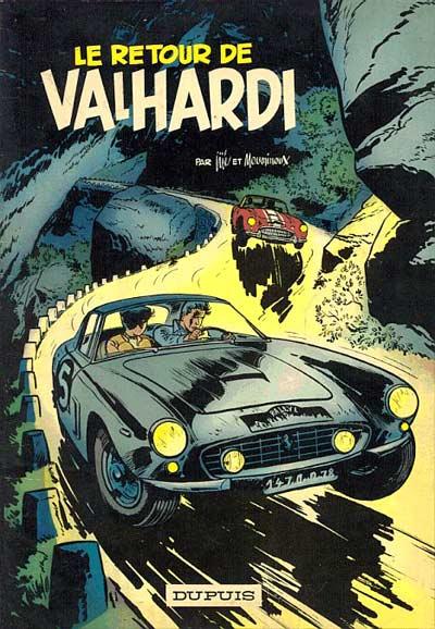 Couverture de Valhardi -12- Le retour de Valhardi