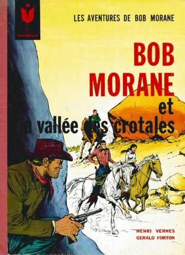 Couverture de Bob Morane 1 (Marabout) -7- La vallée des crotales