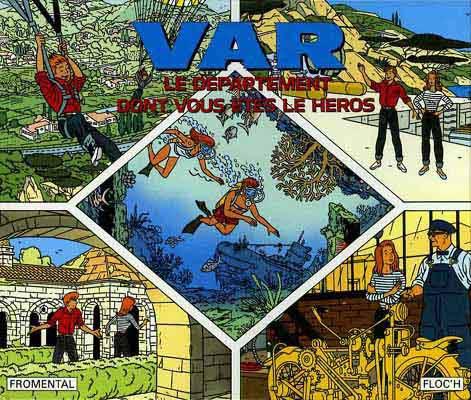 Couverture de (AUT) Floc'h, Jean-Claude -1- VAR le département dont vous êtes le héros