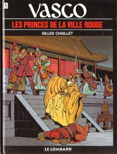 Couverture de Vasco -12- Les princes de la ville rouge