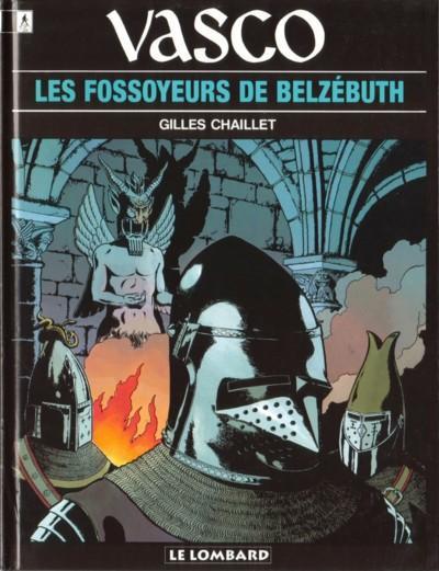 Couverture de Vasco -13- Les fossoyeurs de Belzébuth