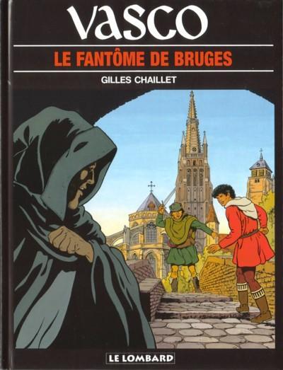 Couverture de Vasco -15- Le fantôme de Bruges